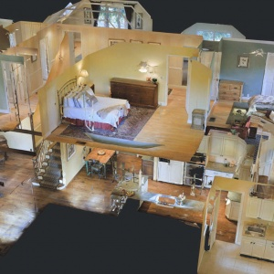 3D Virtual Tour Property Dollhouse View