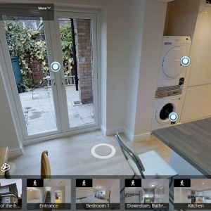 property highlight reel in a 3D virtual tour